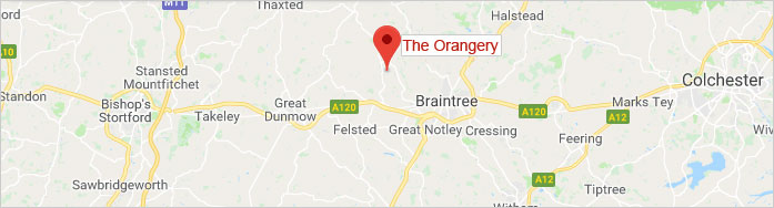 map - The Orangery Saling Grove